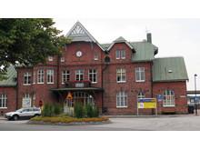 Järnvägsstationen CMYK