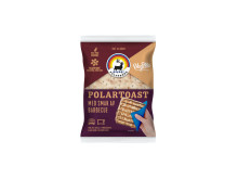 Polarbröd och VegMe samarbete_produktbild Polartoast med BBQ smak