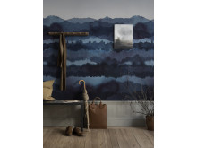 Wallpaper Midnatt 637-04/ design: Karolina Kroon