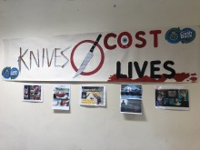 Knives cost Lives at Hillside Community Centre