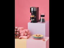 Nespresso x Joy Harris. Photo by Olof Ringmar. Product Standing 50x70