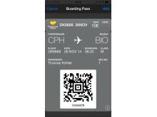 De fleste af Spies' hoteller tilbyder WiFi. Via dette kan man downloade boardingkortet til sin smartphone.