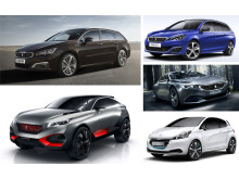 Peugeot på bilsalongen i Paris