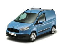 Nya Ford Transit Courier gör premiär på The Commercial Vehicle Show 2013