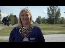 Jill Boman på Bålstadoktorn tilldelades årets Guldhjärta.