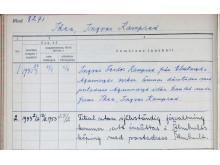 Registreringsbevis firma Ikéa från Landsarkivet Vadstena