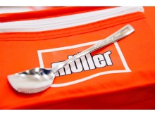 Personalised spoon at the Müller Corner Shop