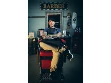 Tim Dodd (AUS) domare i Swedish Barber Expo Barber Battle 2017
