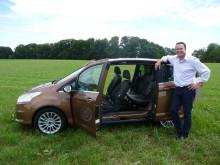 Nye adm. dir i Ford Motor Norge Steve Kimber har stor tro på nye Ford B-MAX