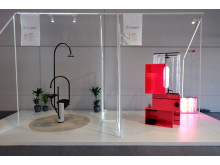 Konzeptstudien im Rahmen von burgbad lab in Kooperation mit der Hochschule Hannover auf der ISH 2019.