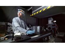 Har satt upp ett eget labb för att testa tekniken