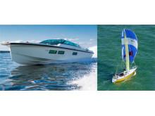 Två av världens häftigaste båtar visas på Båtmässan i Göteborg