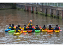 Kayaking, Westminster, Thames, River
