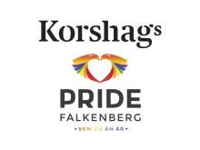Korshags stolt partner till Pride Falkenberg