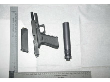 Firearm recovered in Bootle
