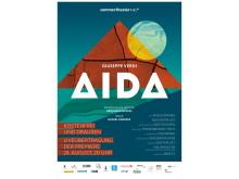 """Das Plakat der diesjährigen Sommertheater Liveübertragung """"AIDA"""""""