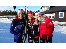 Vinnere stafett kvinner NM 2016