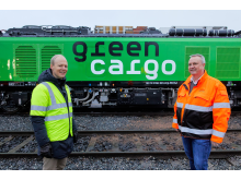 Godsdirektör på Bane NOR, Oskar Stenstrøm & Bengt Fors VD Green Cargo Norge