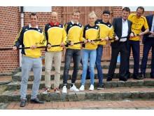Leipziger Spitzensportler ziehen gemeinsam an einem Strang