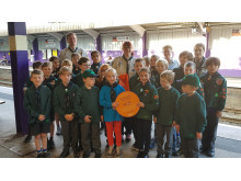 1st Bournville Scouts Cross City Heroes plaque
