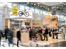 Rudolf Müller Mediengruppe präsentiert sich auf der BAU 2019 in München im neuen Corporate Design