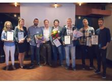 Vinnarna av Bookatable Awards
