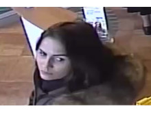 CCTV image of a woman officers would like to speak to in relation to a theft in Chesham