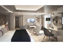 Hurtigruten Roald Amundsen corner suite