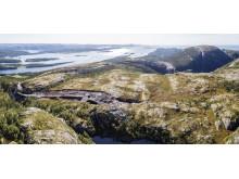 Adkomstvei Kvenndalsfjellet vindpark