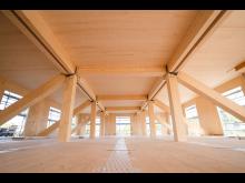 ZÜBLIN Timber, Start Holzarbeiten Uni Witten-Herdecke