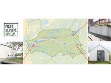 Karta över muralmålningarnas placering i Härryda kommun