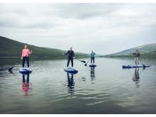 SUP-paddling ingår för alla hotellgäster
