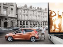 Nye Ford Fiesta tildelt med 5 stjerner under Euro NCAP