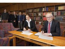 Underskrivelse af ESCO-aftale på Frederiksebrg Rådhus