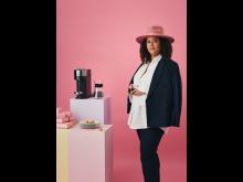 Nespresso x Joy Harris. Photo by Olof Ringmar. Standing 50x70
