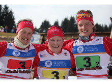 Endre Strømsheim,Harald Øygard og Aleksander Fjeld Andersen,stafett ungdom menn,junior-vm2016