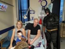 Longbenton dad urges parents not to turn a 'blind eye' to retinoblastoma following toddler son's diagnosis