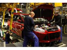 Ford har nå produsert 1 million av siste generasjon Ford Focus