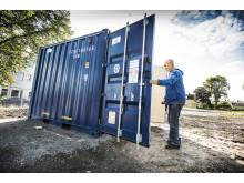 Container för energilager