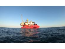 ESVAGT DANA - diving support vessel for Vår Energi