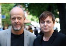 Fredrik Forsmark och Jessica Larsson Svanlund