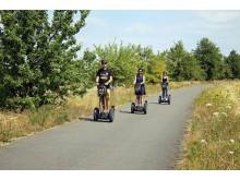 Segway-Tour mit Stadtstromer entlang des Grabschützer Sees