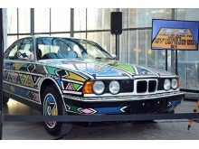 BMW Art Car Nr 12 von Esther Mahlangu