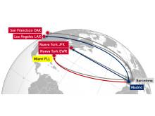 Mapa largo radio en España