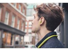 h.ear in wireless yellow