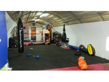 Photo of gym interior