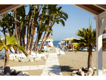 Torremolinos på Costa del Sol er ikke et charterrejsemål - hertil går turen med rutefly.