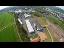 STRABAG, Luftbild Konzern-Lehrwerkstatt