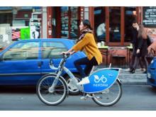Nextbike lånecykel i Berlin 2015
