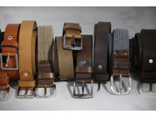 5776 & 5779 & 5777 & 5778 Leather and texile belts